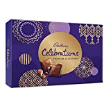 Product packed and delivered with frozen gel packs (reusable) to maintain temperature & quality during transit Celebrate your special occasions with your favourite chocolates- Cadbury Dairy Milk, Cadbury 5 Star 3D, Cadbury Dairy Milk Fruit & Nut, Cad...
