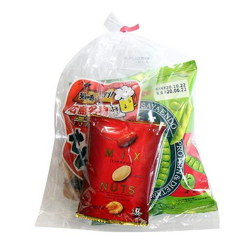 広島名物!せんじ肉入りおつまみお菓子袋詰め C 詰め合わせ 駄菓子 おかしのマーチ