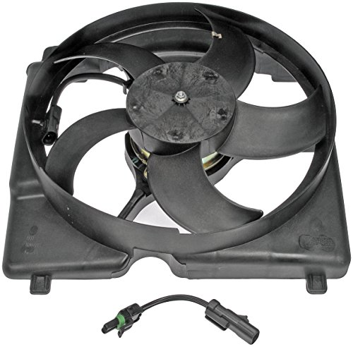 Dorman 620-001 Engine Cooling Fan Assembly for Select Jeep Models , Black