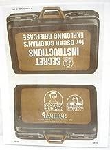 Kenner 1973/76 Six Million Dollar Man Oscar Goldman's Exploding Briefcase Product Sheet - Copy, Laminated