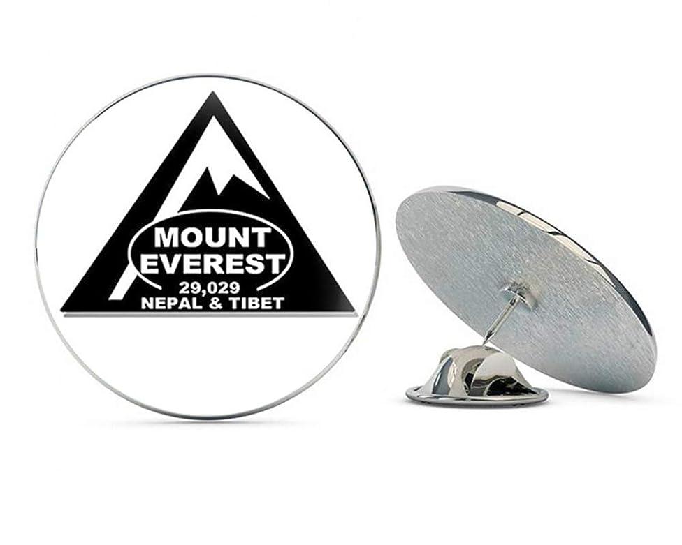 NYC Jewelers Triangle Shaped Mount Everest (rv Climb Hike Tibet Nepal mt) Metal 0.75