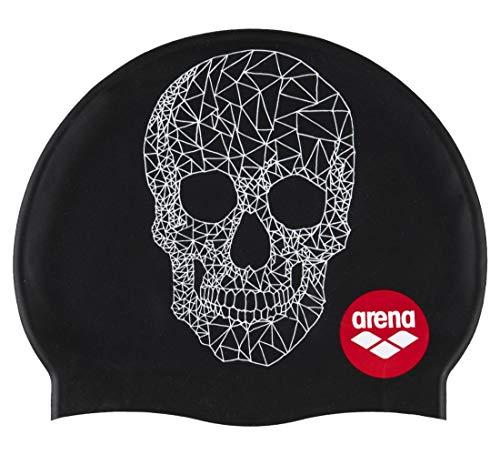 Arena Print 2, Swim Caps Unisex Adulto, Crazy Pop Skulls, NS