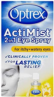 Optrex Actimist 2in1 Eye Spray For Itchy Watery Eyes 10ML