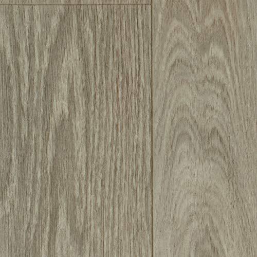PVC Vinyl-Bodenbelag Landhausdiele Eiche Grau | CV PVC-Belag Muster | CV-Boden wird in benötigter Größe als Meterware geliefert | rutschhemmend