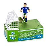 Sarple Novedad Caja de Dinero fútbol eléctrico Tiro cCartoon fútbol Ahorro Olla Regalo para niños Jugador de fútbol Juego de Juguete