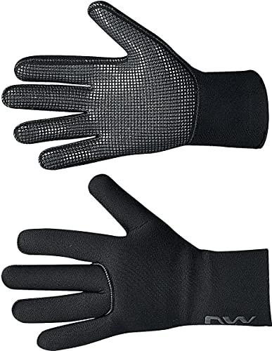 Northwave Fast Scuba 2022 - Guantes de ciclismo para invierno (talla L, 9), color negro