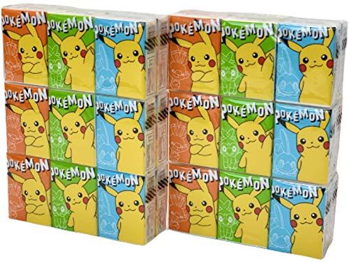 フルールプチ 携帯用ペーパータオル ポケットティッシュ 紙ナフキン ポケモン(ヒバニー) まとめ買い 36個セット