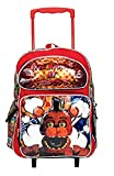 """Five Nights at Freddys 16"""" Standard Size Large Rolling Backpack"""