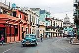 Rompecabezaspara Adultos para niños - La Habana, Capital de Cuba -Puzzle de Paisaje de MaderaGJYAC F409-1000 Pieces