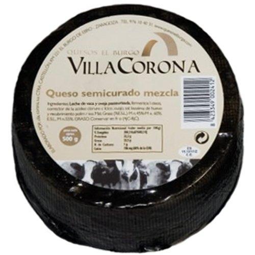 Queso Mezcla Semi-Curado (500 g) - Villa Corona