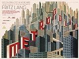 CLASSIC POSTERS Metropolis Foto-Nachdruck eines Filmposters