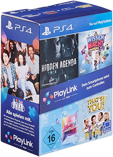 PlayLink Bundle (Wissen ist Macht, Hidden Agenda, SingStar Celebration & That's You!) - [PlayStation 4]