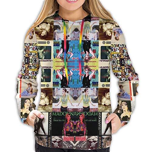 Madonna Collage - Sudadera de manga larga para mujer, ideal para primavera, otoño e invierno