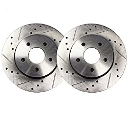 2001-2003 Highlander AWD Front + Rear Rotors w//Metallic Pad OE Brakes