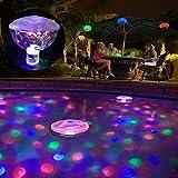 UxradG LED Multicolores de Bain de lumière Piscine étanche Flottant lumières pour Enfants Bain Temps, Pool Party