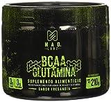 MAD LABZ BCAA + Glutamina, Sabor Fresandía 210g