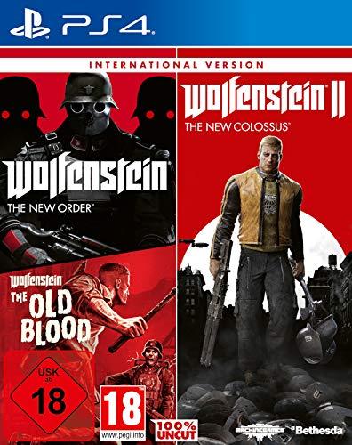 Wolfenstein: Triple Pack (International Version) [PlayStation 4]