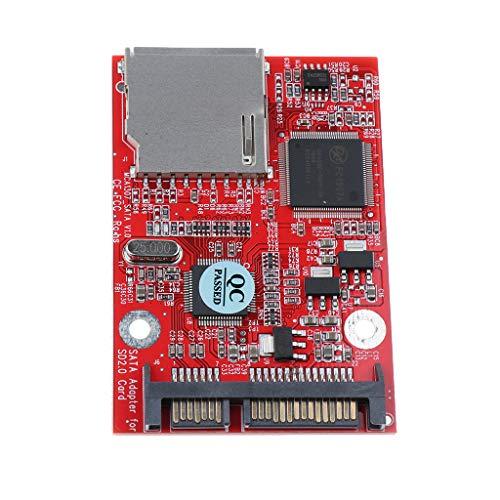 D DOLITY SD SDHC MMC-SATAアダプタ 変換カード