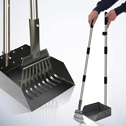 heavy duty metal pooper scooper