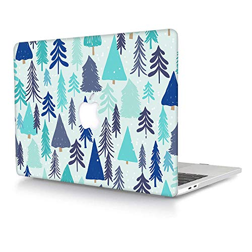 AJYX MacBook Pro 13 inch Case 2012 2011 2010 2009 Release A1278,Snap on Plastic Hard Shell Case Cover Only Compatible with Old Version MacBook Pro 13 Inch with CD-ROM - Christmas Tree
