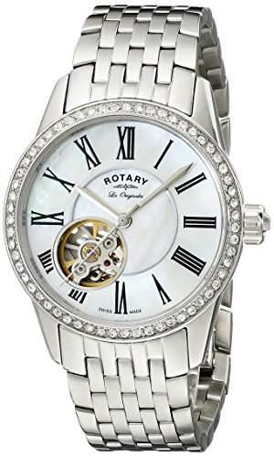 Rotary Damen Automatik Uhr Mit Edelstahl LB90510/41