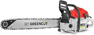 GREENCUT GS720X - Motosierra de gasolina con motor de 2