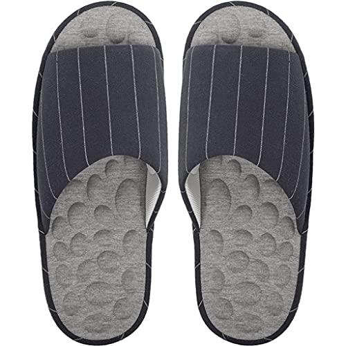 Zapatillas De Interior, Sandalias De Masaje De Pies para Hombres Y Mujeres Artritis Fascitis Plantar Chanclas De Masaje para Aliviar El Dolor (Color : Blue, Size : 40-41EU)