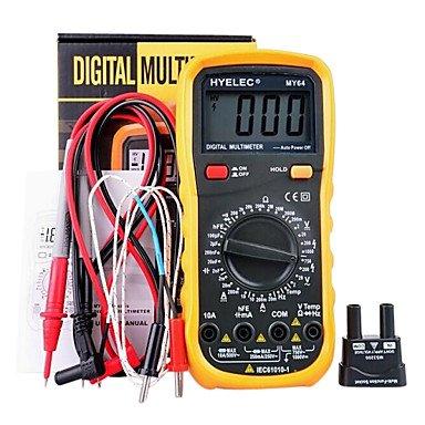 ZYT hyelec® my64 alta calidad 2000 cuentas multímetro digital.
