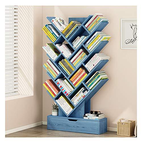 GLFZWJ Boekenplank Vloeren Thuis Woonkamer Plank Creatieve Boomvormige Boekenplank Eenvoudige Moderne Opslagruimte Planken