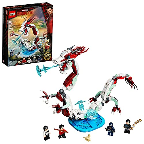 LEGO Marvel Shang-Chi Battle at The Ancient Village 76177 Building Kit (400 Pieces)