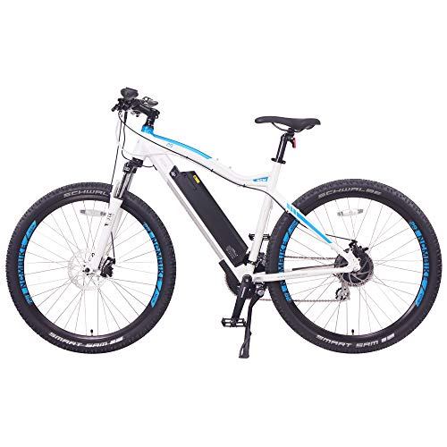 NCM Moscow Electric Mountain Bike 624Wh 48V/13AH Matte White 27.5'