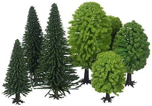 NOCH 26811 - Mischwald, 25 Bäume, 5-14 cm hoch