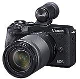 Canon ミラーレス一眼カメラ EOS M6 Mark II EF-M18-150 IS STM レンズ EVFキット ブラック EOSM6MK2BK-18150ISEVFK