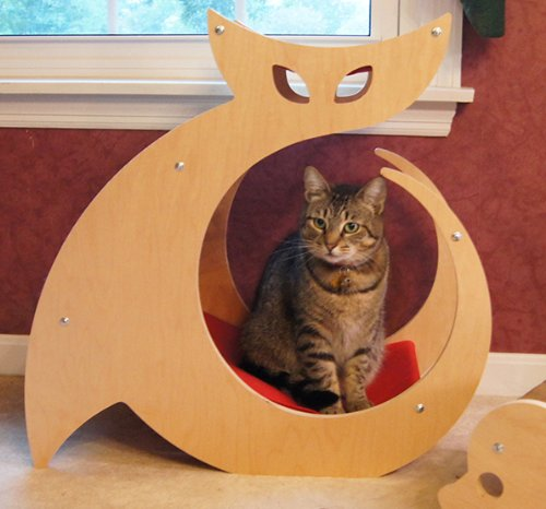 CATTINO™ Cat Shaped Scratching Post - As seen on My Cat from Hell