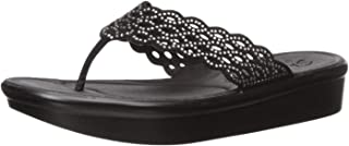 Best black flip flops with rhinestones Reviews