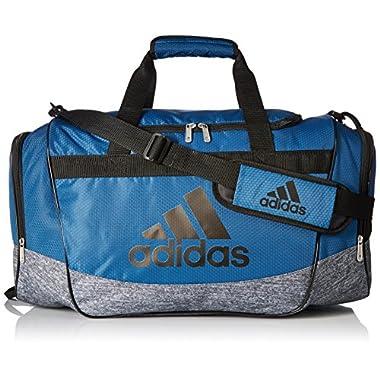 adidas Defender II Medium Duffel Bag, Core Blue/Black/Onix Jersey