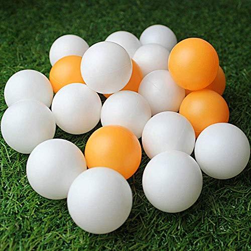 MZY1188 150pcs / Bag Bolas de Ping Pong, Pelota de Tenis de Mesa Deportiva Bolas de Ping Pong de 40 mm de diámetro para Entrenamiento