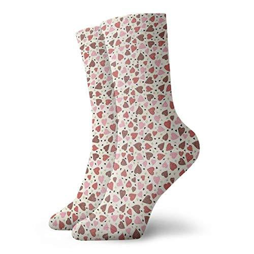 Calcetines suaves de media pantorrilla de color pastel cometas volando en el cielo con cintas temporada de vacaciones Felicidad dibujos animados calcetines decorativos para hombres mujeres