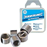 Silverline 481932 - Roscas Helicoil (M10 x 1,5 mm, 25 pzas)