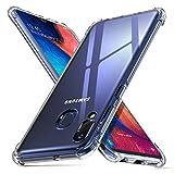 ORNARTO Coque Samsung A20e, Clair Protecteur Housse Anti-Choc Anti-Scratch Bumper Silicone Cover...