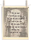 Corpse Bride 8.5 x 11 Vintage Dictionary Page Unframed Art Print
