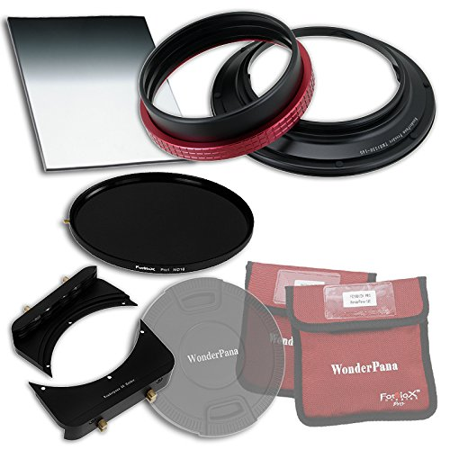 """WonderPana 66 FreeArc Essentials ND 0.6HE Kit - Rotating 145mm Filter System Holder, Lens Cap, Fotodiox Pro 6.6\""""x8.5\"""" 0.6 (2-stop) Hard Edge Grad ND and 145mm ND16 (4-Stop) Filters for the Tamron 15-30mm SP F/2.8 Di VC USD Wide-Angle Zoom Lens (Full Frame 35mm)"""