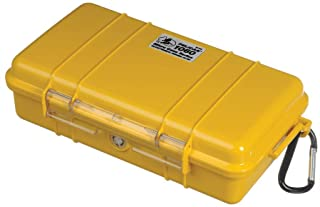 Pelican 1060 Micro Case with Black Liner, Yellow