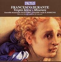 Vespro Breve by DURANTE FRANCESCO / MAIONE AS (2010-08-10)