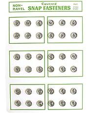 NBK シルクスナップボタン 36個入 素材 : 金属・シルク