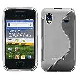 ebestStar - Cover Compatibile con Samsung Ace Galaxy S5839i, S5830, S5830i Custodia Protezione S-Line Silicone Gel TPU Morbida e Sottile, Trasparente [Apparecchio: 112.4 x 59.9 x 11.5mm, 3.5'']