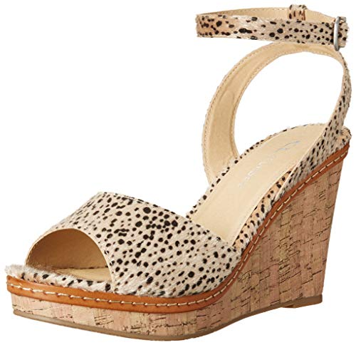 CL by Chinese Laundry Women's Wedge Sandal, Nude, 6.5