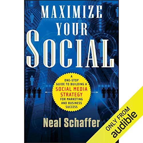Maximize Your Social audiobook cover art
