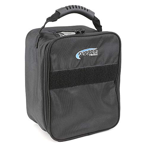 Rugged Radios HS2-BAG Dual Headset Bag for Aviation and Racing Headsets, Radios and Accessories