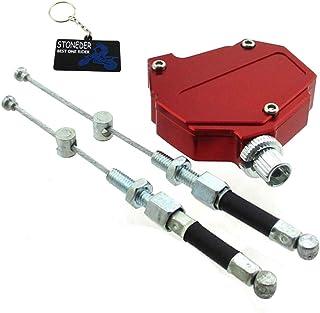 STONEDER - Sistema de Cable de Embrague de Aluminio para Honda Yamaha Suzuki Dirt Bike